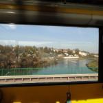 Через стекло автобуса
